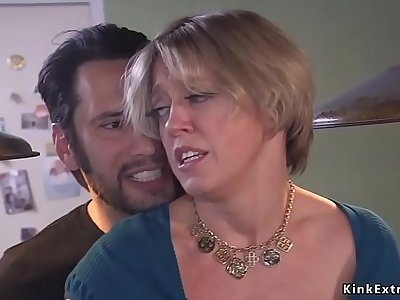 Grown dude rough anal screw Mummy