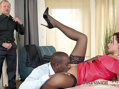 PrivateBlack - Sizzling Daphne Klyde Butt Ravaged By BBC & Husband
