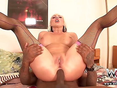 Adorable Blonde Anal Nubile