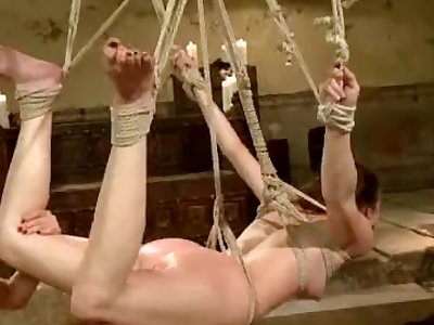 Bonnie Day pegged by a sadistic mistress