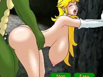 meet and fuck Princess peach gets fucked