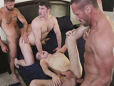 familydick - super horny daddy's swap stepsons for a family hot group sex