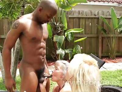 Dark-hued Fellows Fuck Some Nursing Home Broads