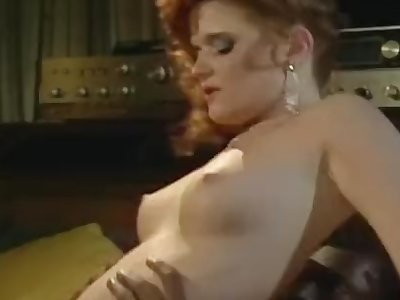 Vintage interracial redhead fucking a dark-hued man