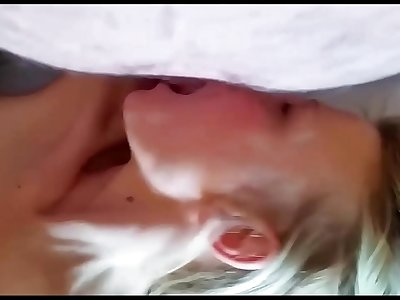 Hardcore anal invasion sex. Anal creampie. Big bosoms wife
