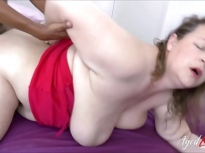 AgedLovE Busty Mature Receives Interracial Fuck
