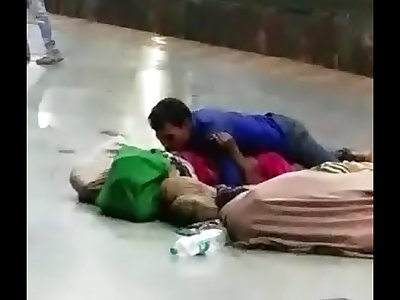 Desi couple having sex in public
