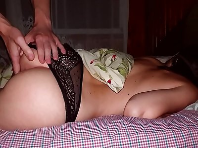 Sleeping step sister was fucked and creampie. Oliver Strelly