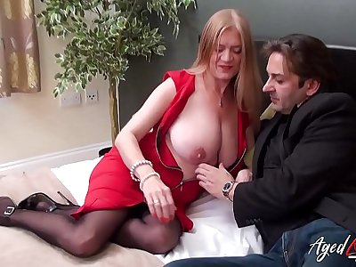 AgedLovE Mature Fucked by Horny Handy Detective